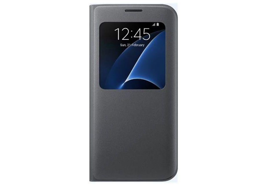 5f1f1b79d7b Osta Samsung S-View Cover Galaxy S7 Edge EF-CG935PBE black madala ...